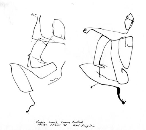 1995 1998 Drawing And Sketch Gambar Dan Sketsa Hariprajitnos Art